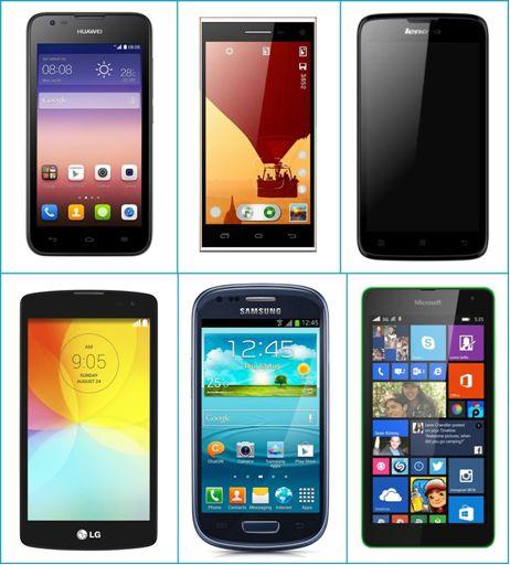 Smartphone με 100€