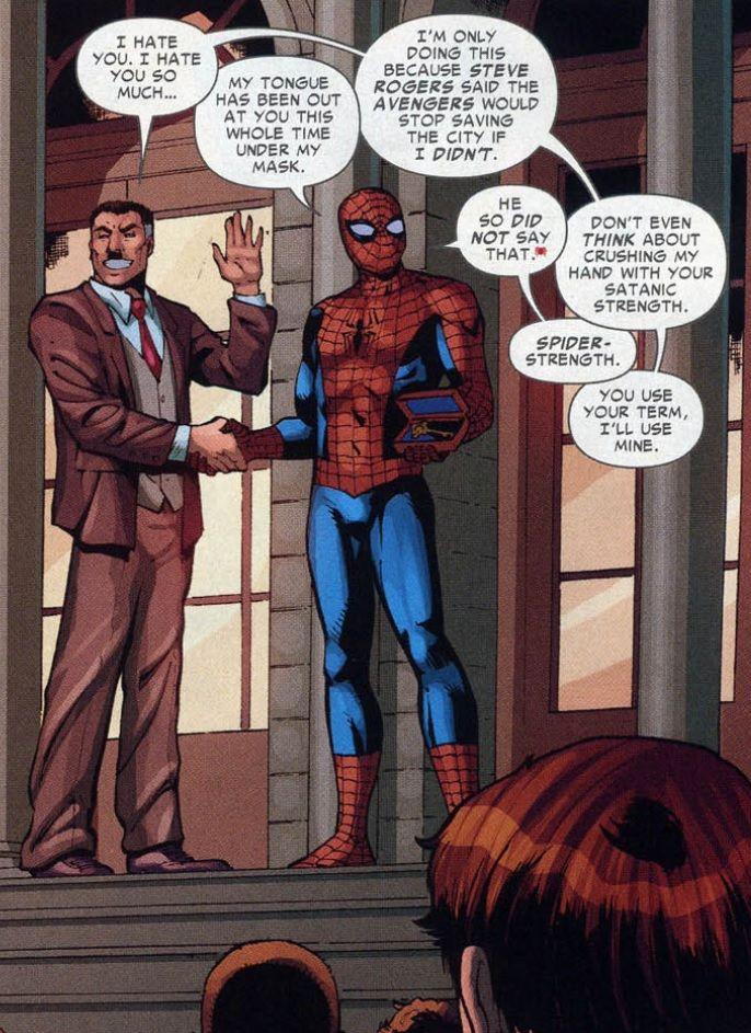 J. Jonah Jameson & Spider-Man - Love/hate relationship