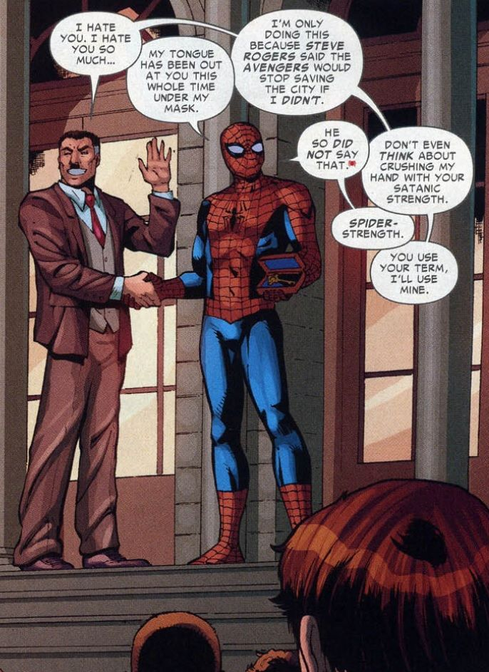 No love lost between JJJ and Spider-Man.