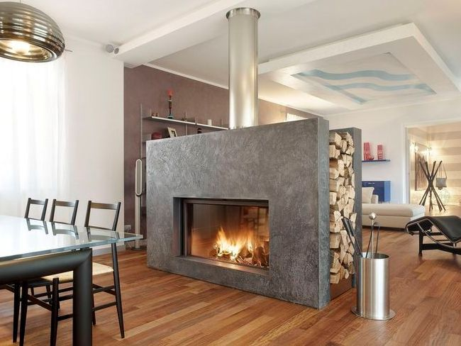 12 best Double Sided Fireplaces images on Pinterest Double sided