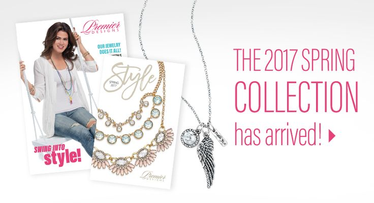 Fall in Love! From amazing jewelry—almost 500 pieces in all— to life-changing opportunities, Premier Designs offers something for everyone! Visit my site to browse the catalog & learn more about Premier. Then contact me to see how you can earn allyour favorites free!
