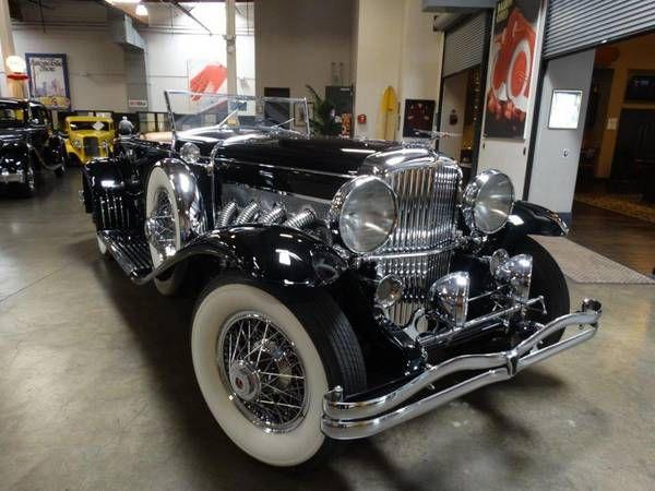 Gangster Bought Duesenberg Model J Sj Heads To Auction Hemmings