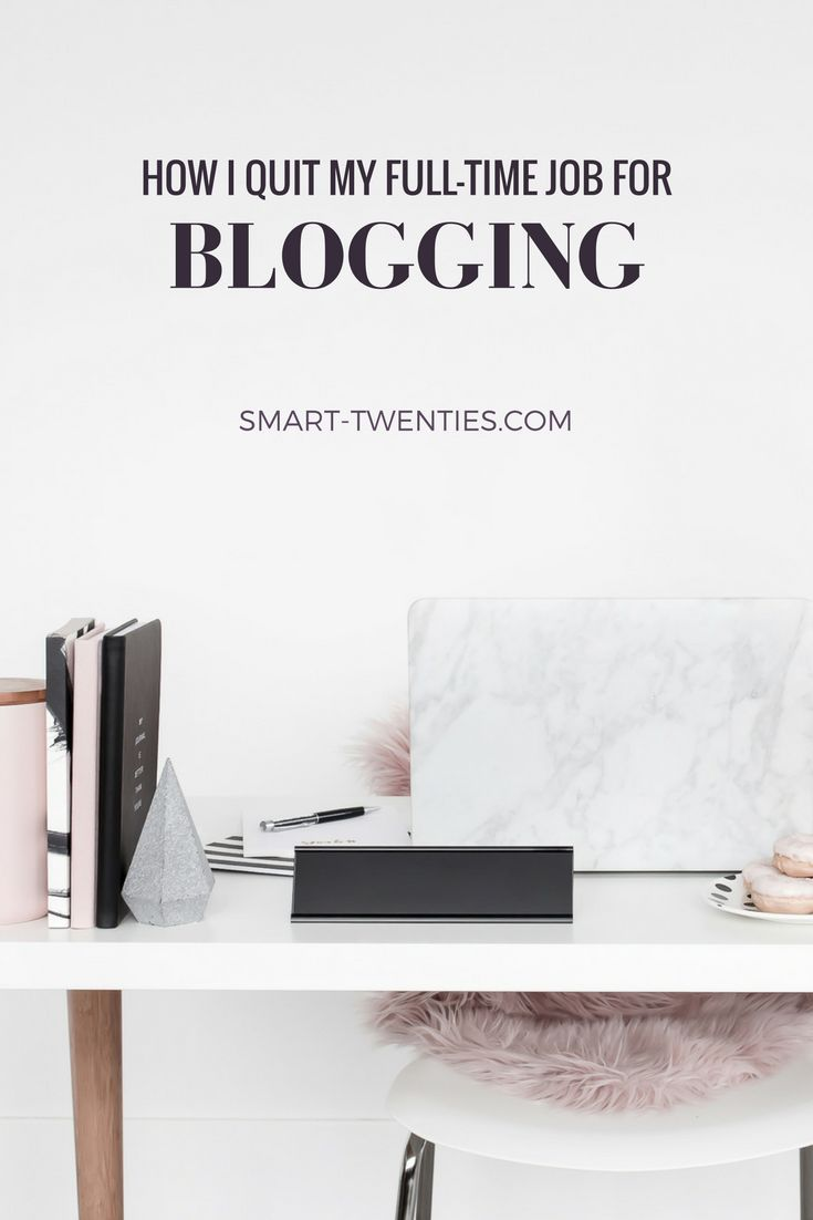 You don't have to know what you want to do with your life. Find out how I quit my full-time job for blogging, without having any idea what I was doing with my life.