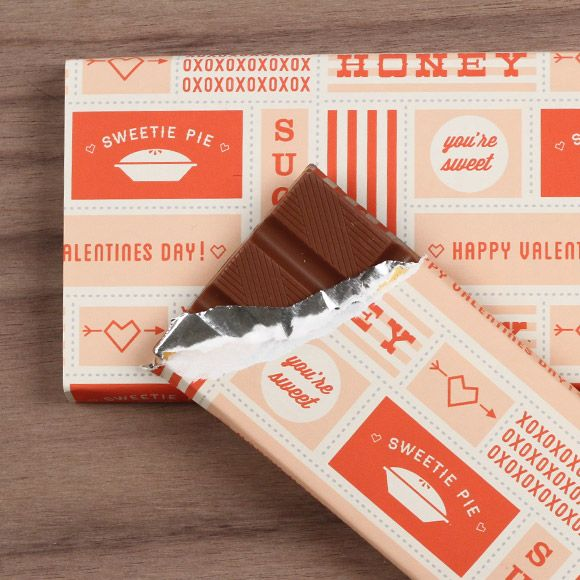 FREE printable Valentines Day Chocolate Wrapper