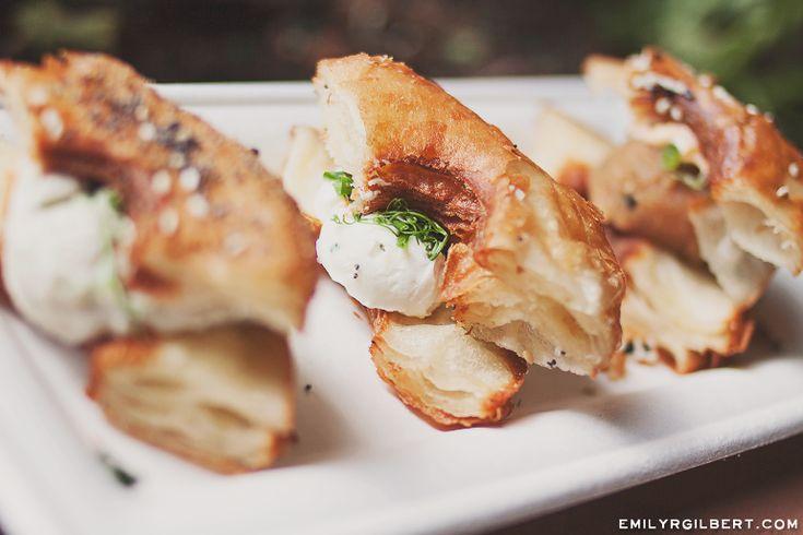 walt disney world food - epcot international festival of the arts - emilyrgilbert.com - trio of savory croissant donunts