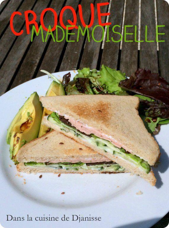 Croque-mademoiselle {vegan}