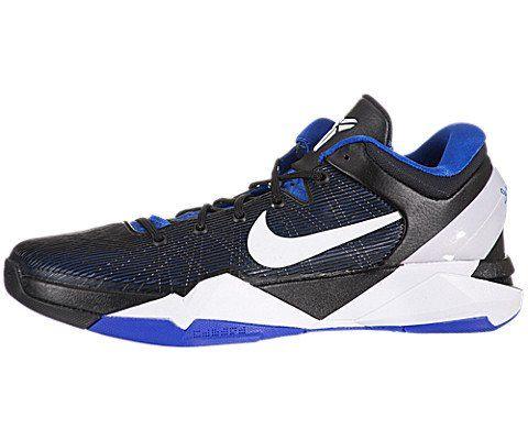 Nike Men\u0027s NIKE ZOOM KOBE VII BASKETBALL SHOES 10.5 (TREASURE BLUE/WHITE  BLACK)