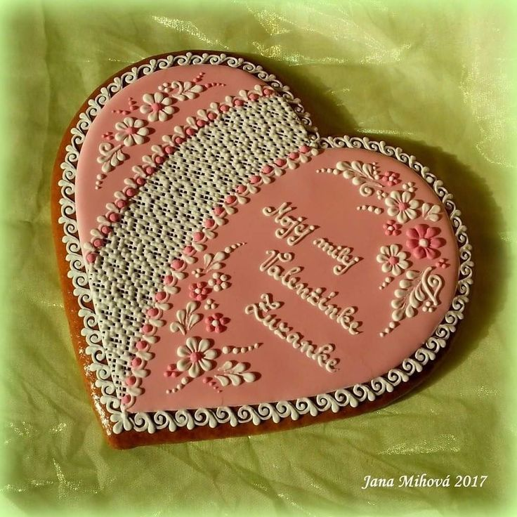 Valentine's gingerbread heart