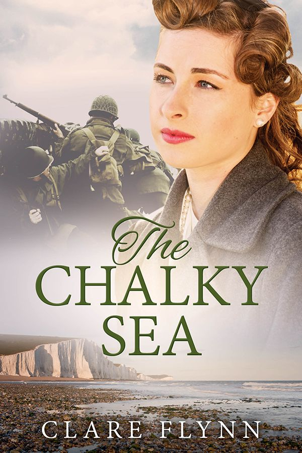 Cover of The Chalky Sea by Clare Flynn  http://mybook.to/chalkysea