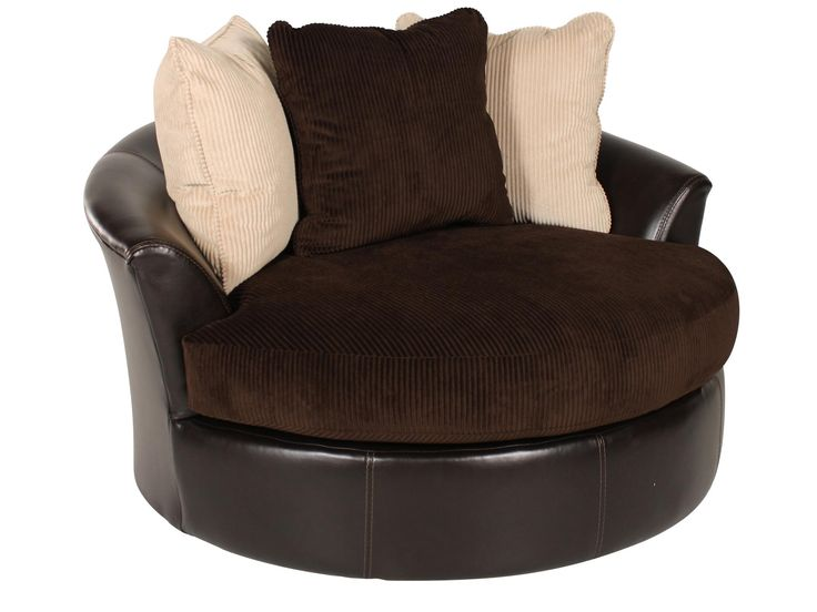Ashley Viva Chocolate Swivel Chair