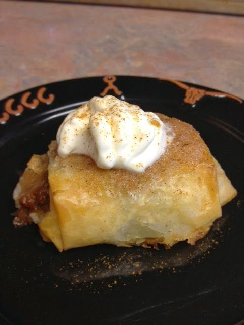 Chef Alli's Recipe Blog: KC Pumpkin Patch Strudelines