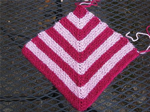 Ravelry Mitered Square Afghan Project Pattern By Michele