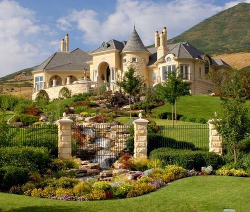 this is my dream house and my dream garden