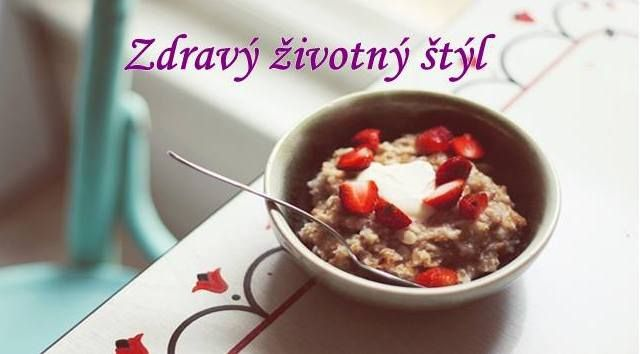 Healthy lifestyle, porridge is full of vitamins and promotes muscle development
