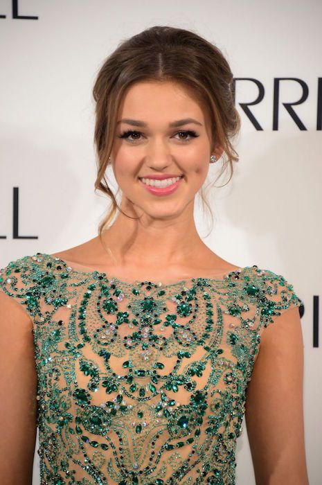 Sadie Robertson at Sherri Hill Fashion Show 2015....
