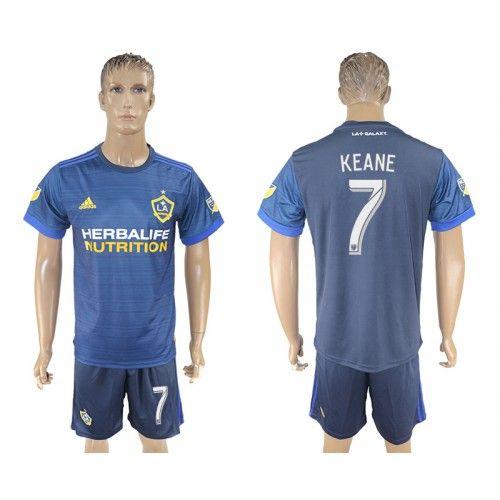 Equipement de Foot acheter 2017-18 Tenue de Foot LA Galaxy Away 7 Keane Maillot de Foot pas cher.