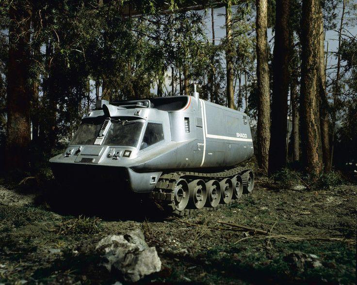UFO SHADO MOBILE NELLA FORESTA Gerry Anderson veicolo 24x36 POSTER | eBay