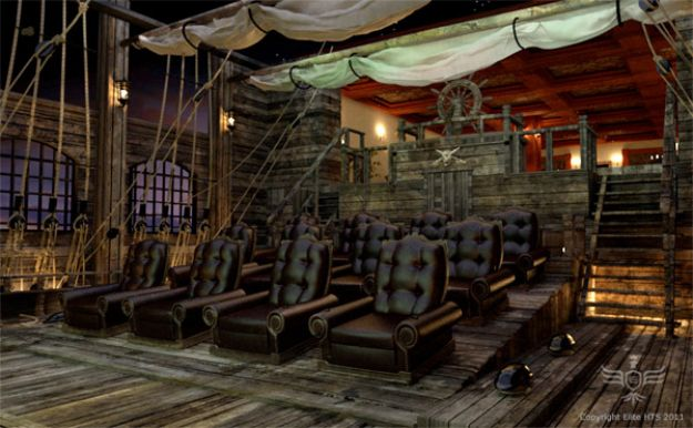 26 Home Theaters You Wish You Owned .  These are crazy and could NEVER afford it but these r super cool!