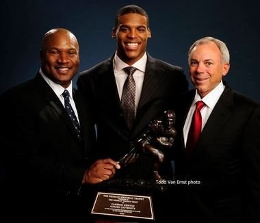 """Heisman! and my precious mother-in-law's """"other son"""" that she didn't give birth to...Pat Sullivan."""