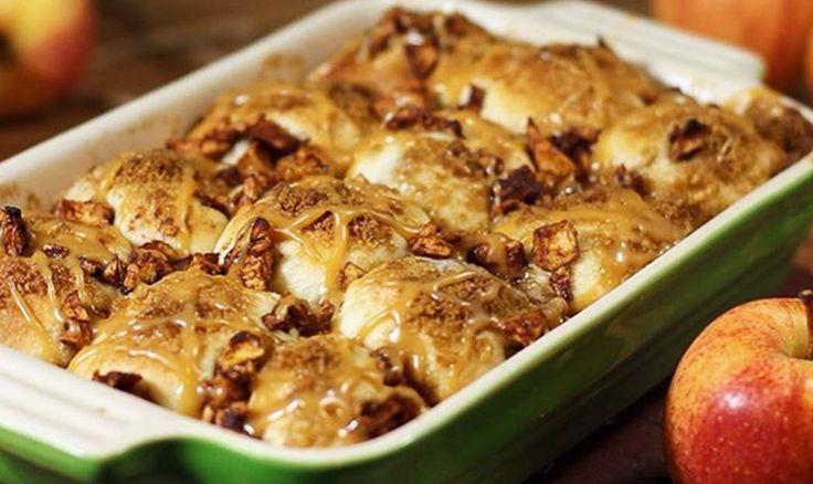 Recipe: Caramel Apple Pie Bombs