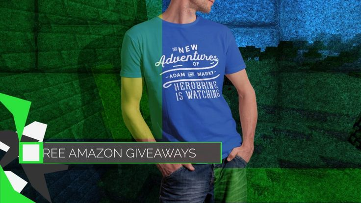 """The New Adventures of Adam and Marky Herobrine is Watching Retro T-Shirt  https://giveaway.amazon.com/p/41a44cf40eb8a627 Still time to Enter #AmazonGiveaway for a chance to win The New Adventures of Adam and Marky Herobrine is Watching Retro Vintage T-Shirt 2XL Black brand by Adam and Marky for U.S participants only. """"NO PURCHASE NECESSARY. Ends: Jun 25, 2017 11:59 PM PDT. See Official Rules."""" The official rules for Amazon Giveaway can be found at https://giveaway.amazon.com/rules."""