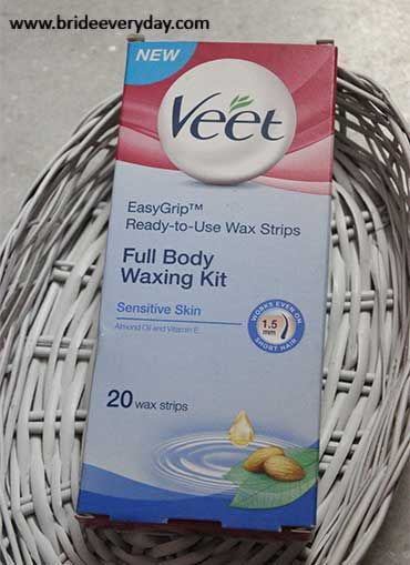 Veet Ready to Use Wax Strips Full Body Waxing Kit for Sensitive Skin Review http://www.brideeveryday.com/veet-ready-use-wax-strips-full-body-waxing-kit-sensitive-skin-review