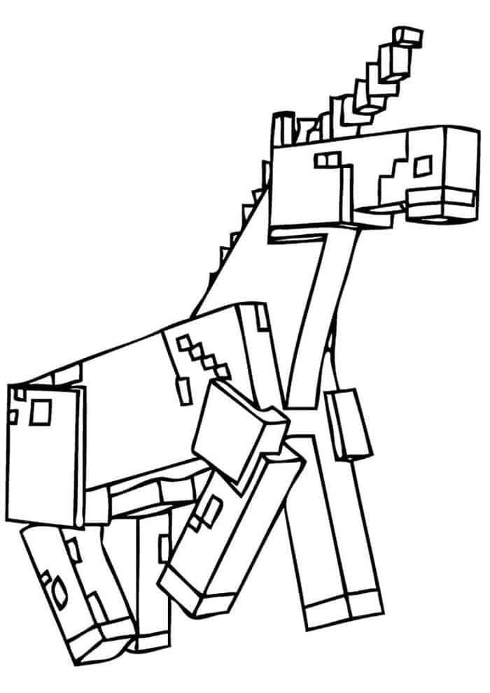 Minecraft Unicorn Coloring Pages Unicorn Coloring Pages Minecraft Coloring Pages Coloring Pages