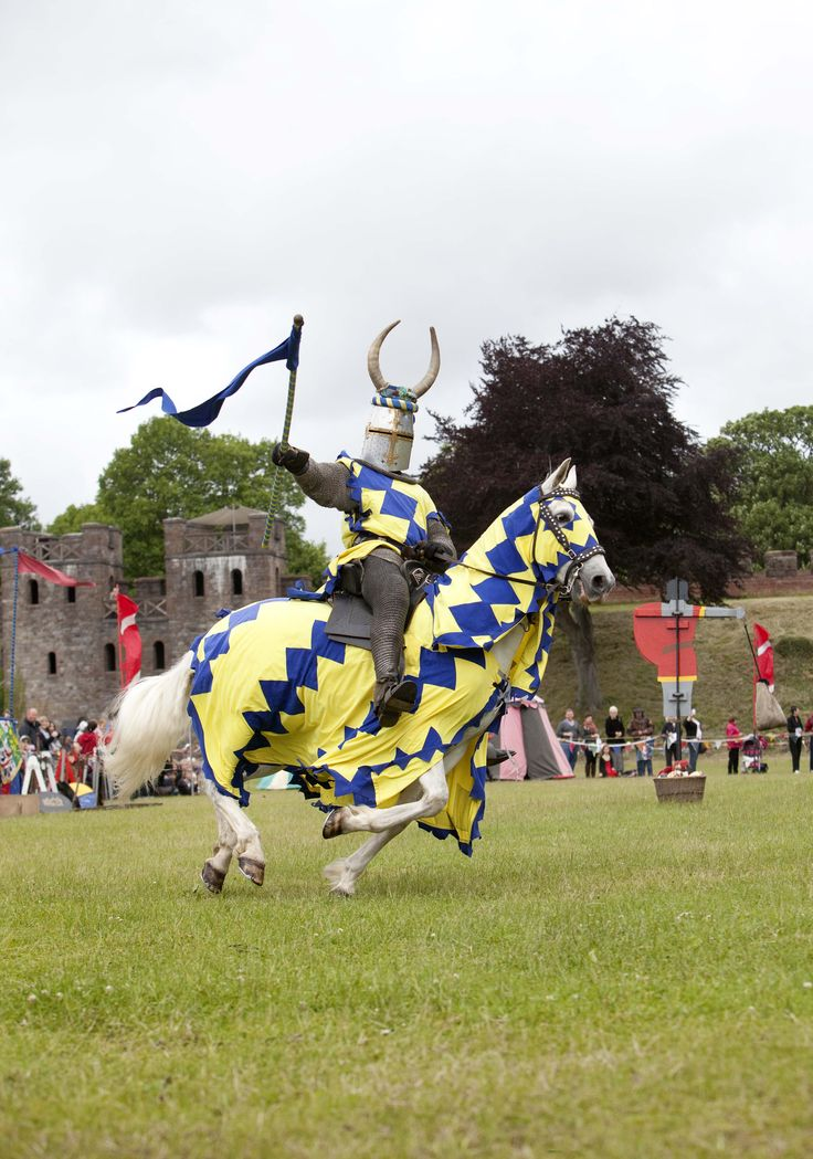 Joust!! - Cardiff Castle, Cardiff, South Wales, UK