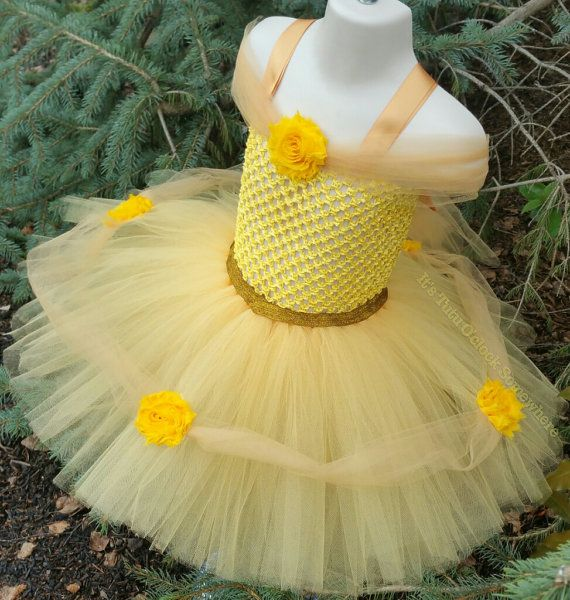 SALE  Belle Tutu Dress Headband Sold by TutuOclockSomewhere