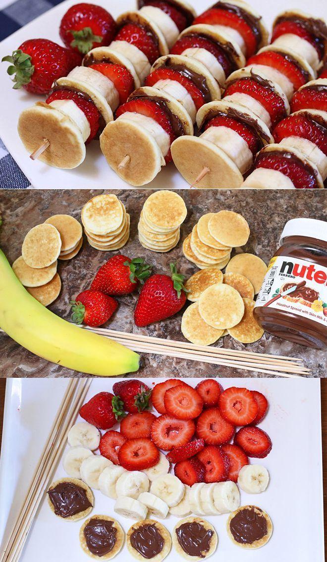 Strawberry Kiwi Banana Layer Cake Recipe (Ledeni Vjetar) – #banans # strawberry #l  – Thea