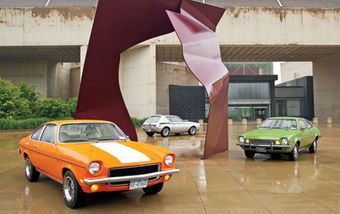 Come take a look at the 1971 AMC Gremlin X, 1973 Chevrolet Vega GT, and 1972 Ford Pinto's wallpaper gallery, brought to you by the classic experts at Motor Trend Classic.