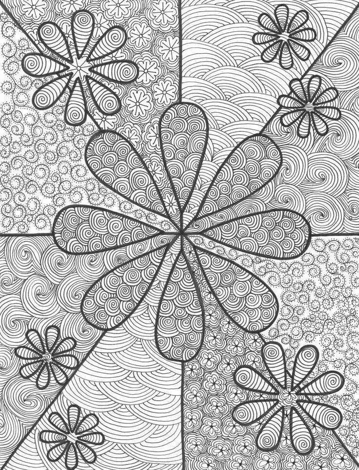 Floating Flowers an original artwork by Cat Magness