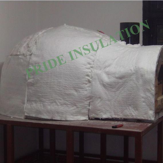 Pizza Oven insulation with ceramic fiber blanket