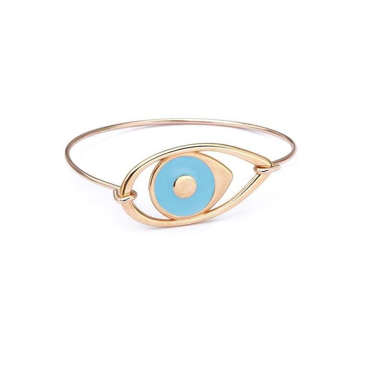 Light Blue Eye Pink Cuff
