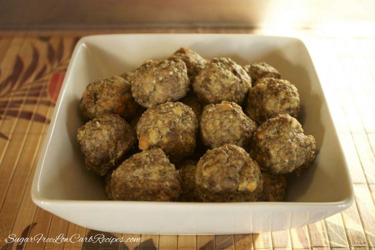 Gluten Free Meatballs :http://lowcarbyum.com/gluten-free-meatballs/