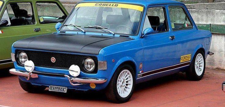 Retro Auto Cool Photo With Images Fiat 128 Retro Cars Fiat
