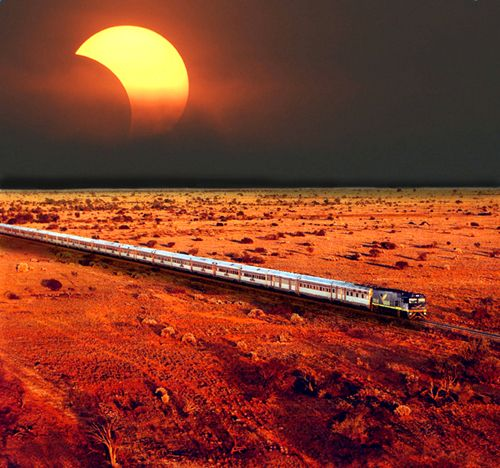 Big Picture Science - Cross Australia by Train with Astronomer Seth Shostak   It's the down-under wonder: the Indian Pacific Railway. For three days and nights, this fabled train will haul you across the spectacular southern landscapes of Australia, crossing from one coast to the other.