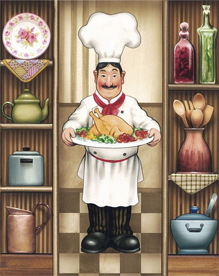 436 best images about chef themed on pinterest chef for Chef themed kitchen ideas