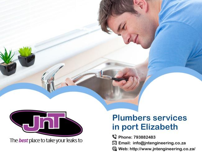 JNT are provided a team of professionals Plumbers services in port Elizabeth, they are providing all types of plumbing services. https://goo.gl/iTcJvo