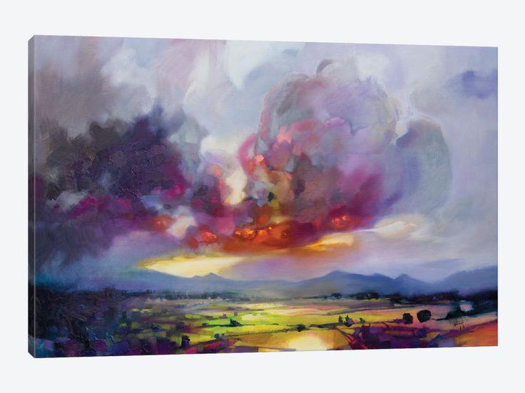 Bulk Modulus + by Scott Naismith 1-piece Canvas Artwork
