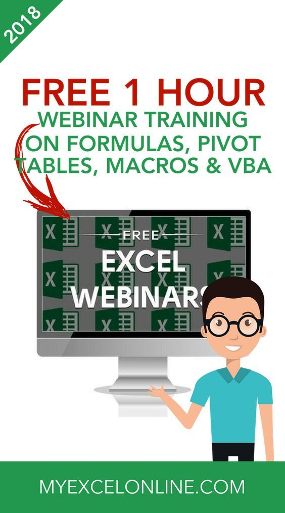 Free Excel Online Training Courses in 2018 Just because