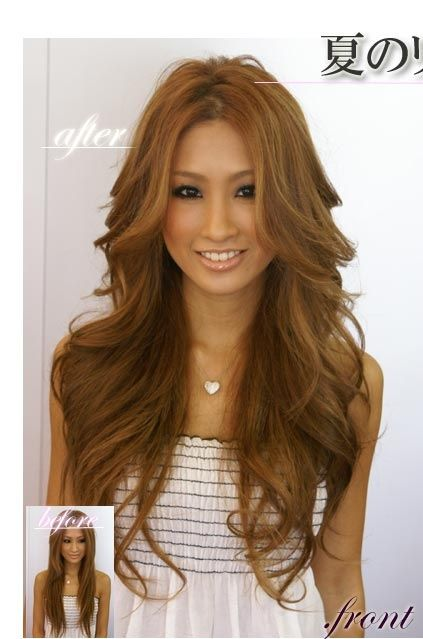 Long Loose Curls Hair Colors And Styles Gyaru Hair