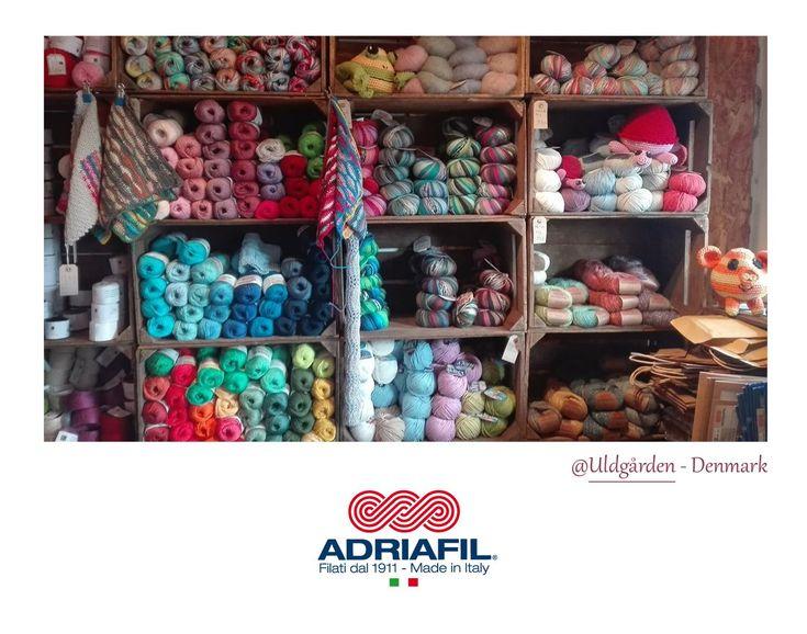 Brrr..ecco un paradiso dei filati...#adriafilshop! Che calda lana #Adriafil scegliamo oggi?