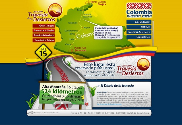Colombia Nuestra Meta - original by Gen Interactive, via Flickr
