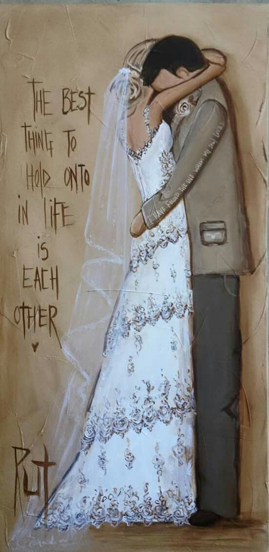The best thing to hold onto in life is each other... __©Rut[rutcreations.com][Rut Art/FB] #HappilyEverAfter