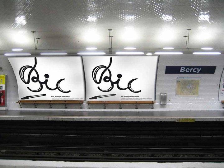 60 ans Bic Cristal   Création d'une campagne de communication / Année 3  2009 - 2010