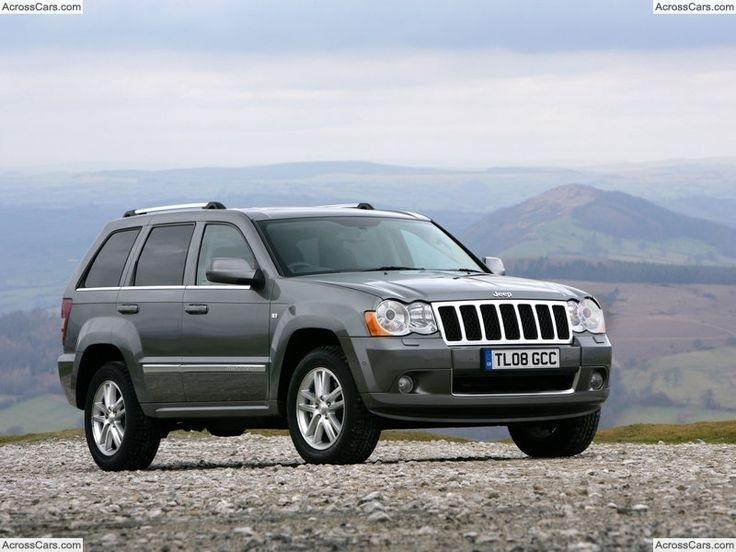 Jeep Grand Cherokee Overland [UK] (2008)