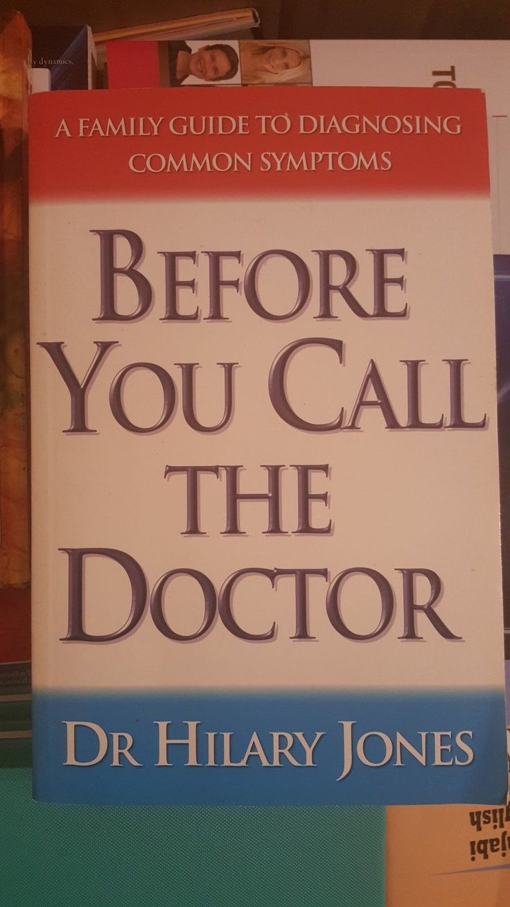 DR Hilary Jones Before YOU Call THE Doctor Guide TO Diagnosing Common Symptoms | eBay