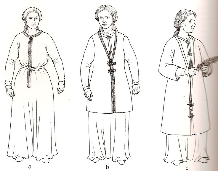 From Rogers, Penelope Walton. Cloth and Clothing in Early Anglo-Saxon England (p 190). - 6th century