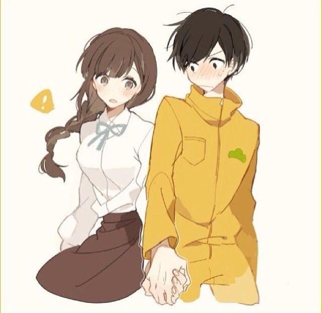 Osomatsu-san- Jyushimatsu and girl #Anime「♡」